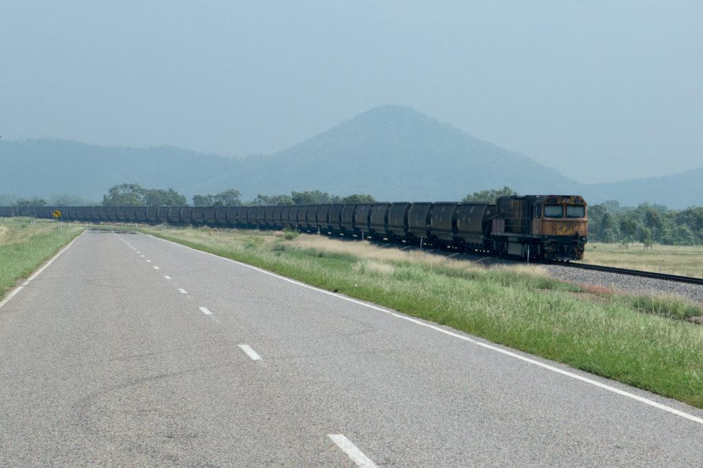 Coal train to Point Abbott